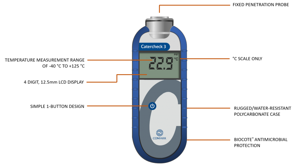 Catercheck3 Catering Thermometer