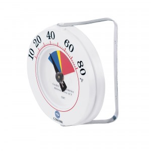 CWT Cooler Wall Thermometer with Mounting Bracket