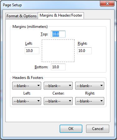 Firefox-Page-Setup
