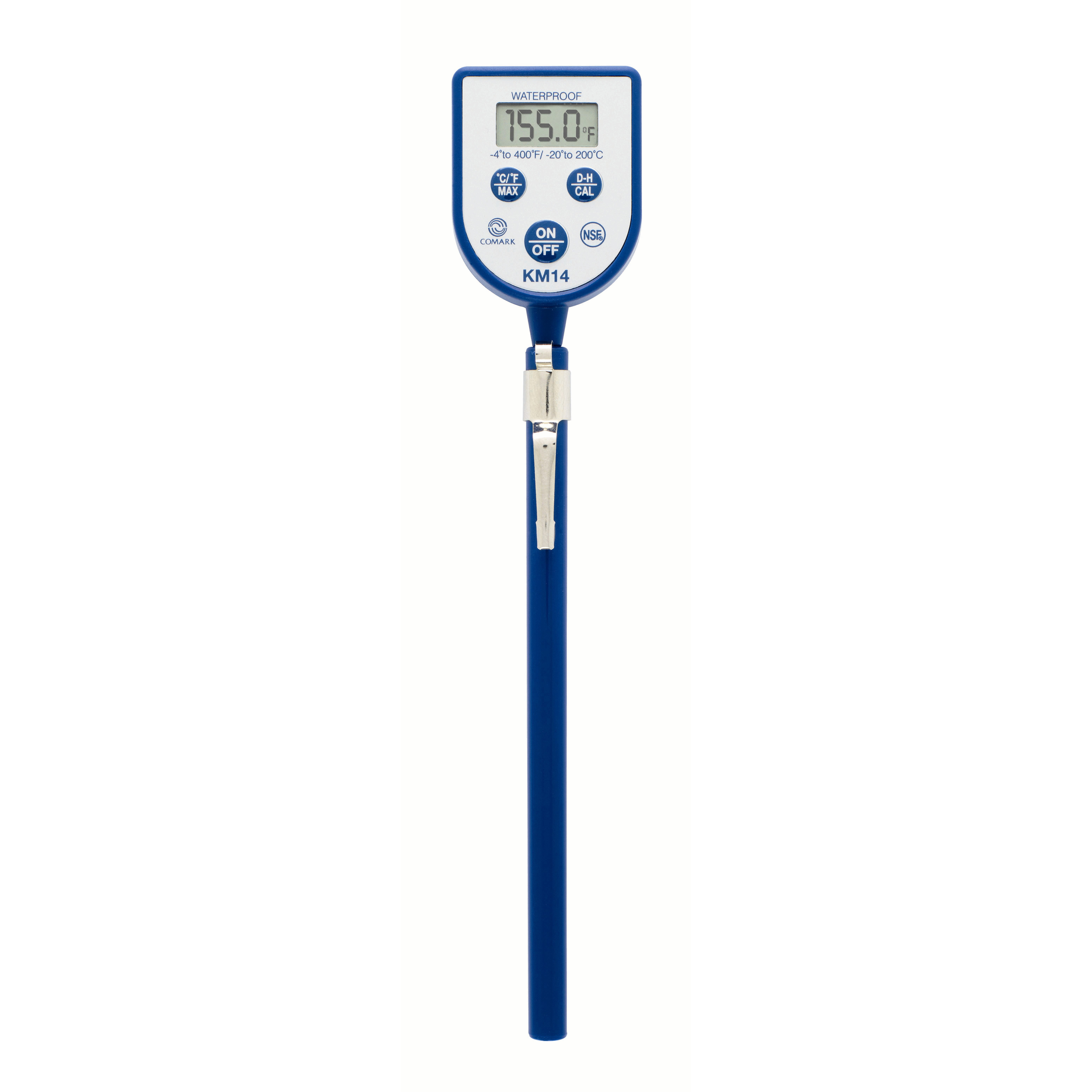Dishwasher Thermometer Km14 With Stainless Steel Probe Safety Manual