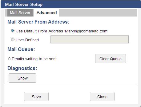 Advanced E-Mail Server Setup