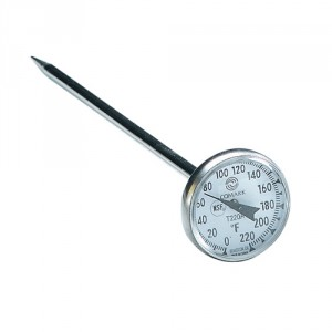 T220A Calibratable 1 Inch Dial Thermometer
