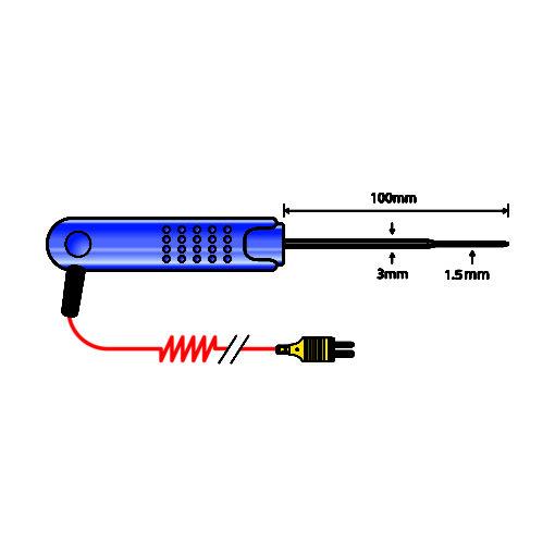 PK19M Thin Tip Penetration Probe