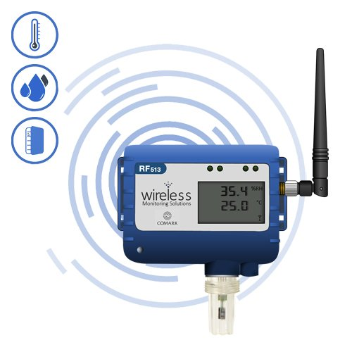 RF513 Wireless Humidity and Temperature Transmitter