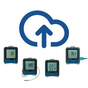 Plug and play wireless temperature monitoring
