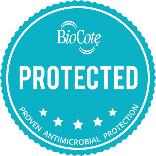 Biocote Antimicrobial Protection on this Product