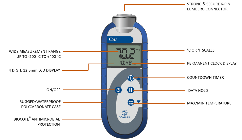 C42C Bluetooth Food Thermometer