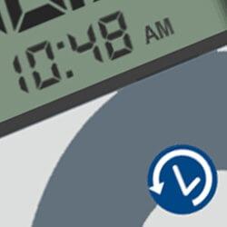 Permanent Clock Display