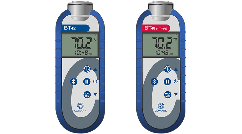 Bluetooth Handheld Thermometers