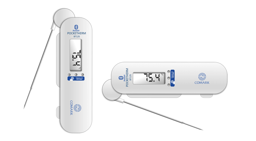 Bluetooth Pocketherm Folding Thermometers