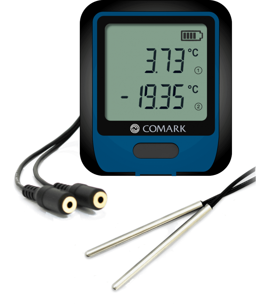 RF312DualPlus WiFi Dual Channel Data Logger with High Accuracy 'Plus' Specification Thermistor Probes