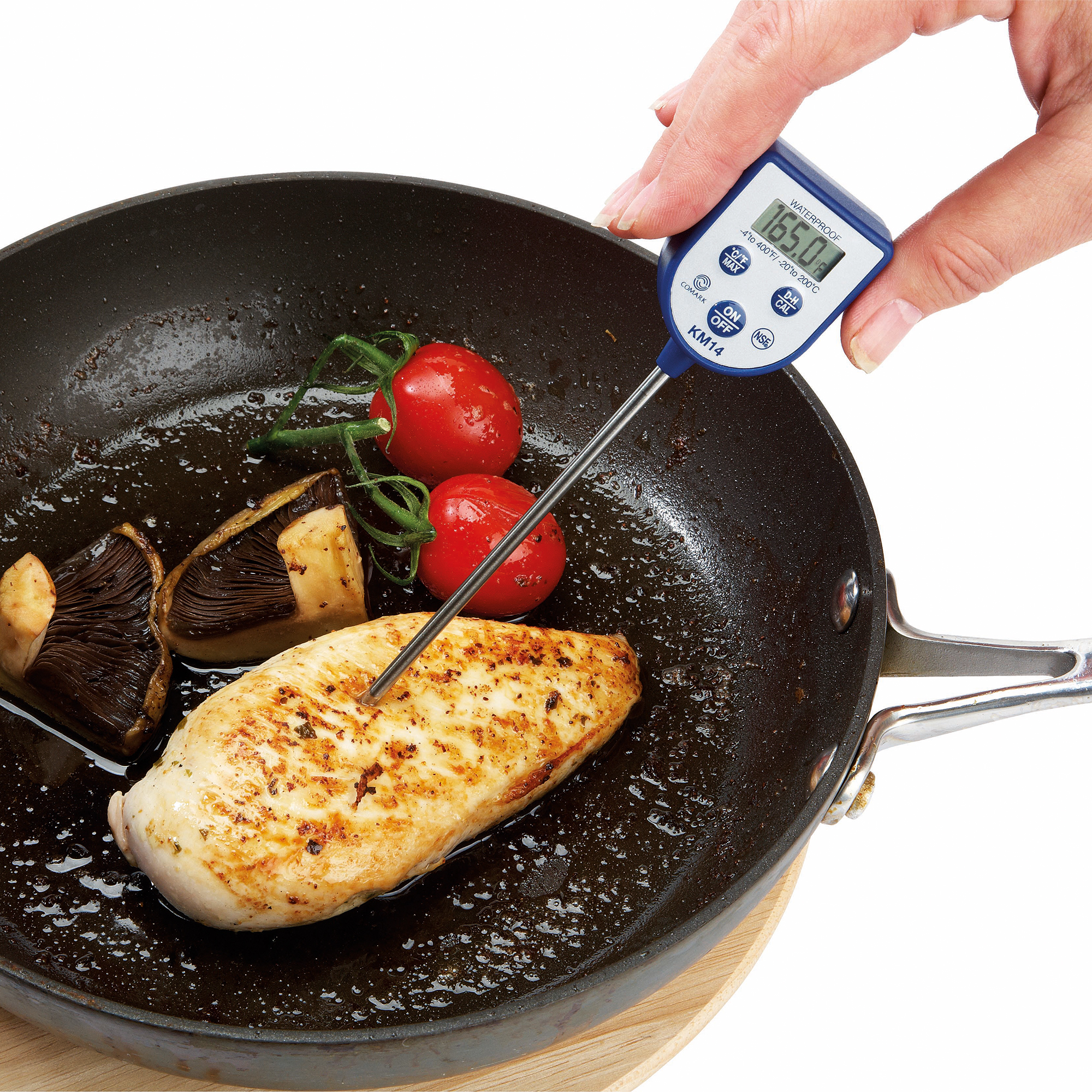 Dishwasher Thermometer Km14 With Stainless Steel Probe