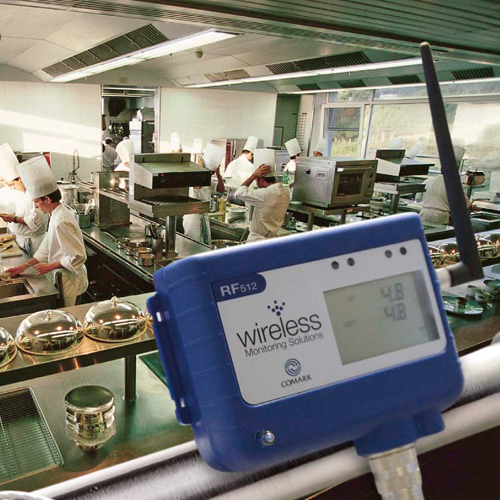 Optimizing Operational Efficiencies through Wireless Environment Monitoring