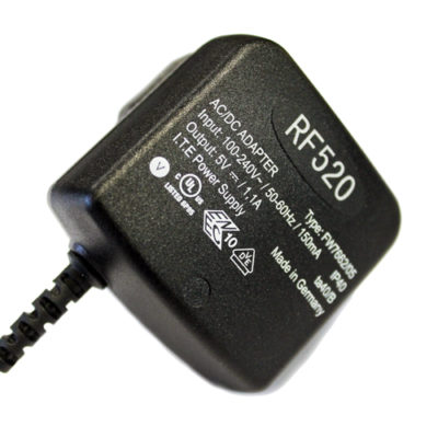 RF520 US Mains Power Supply Unit
