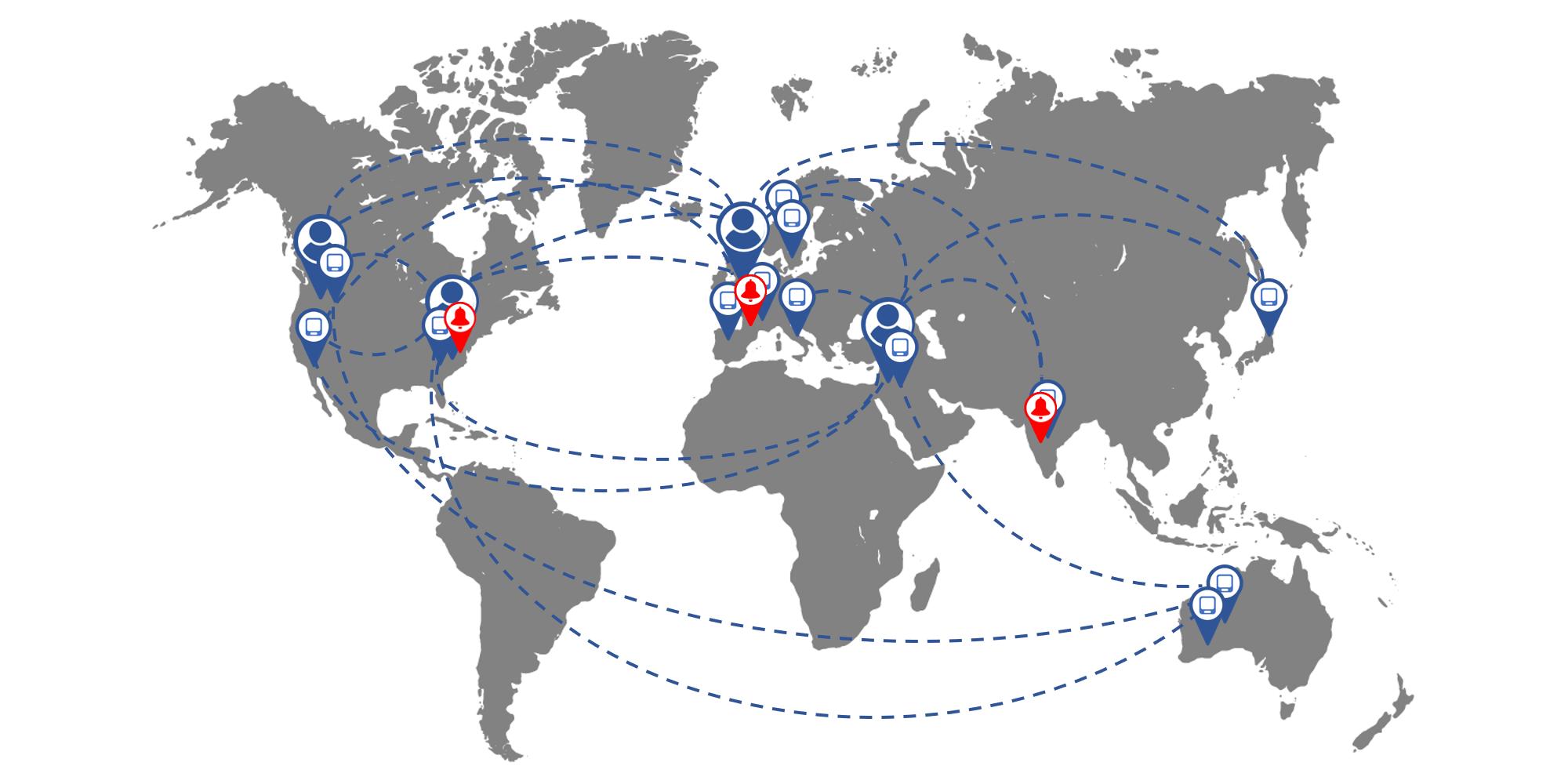 RF400 WiFi Monitoring System Global Usage