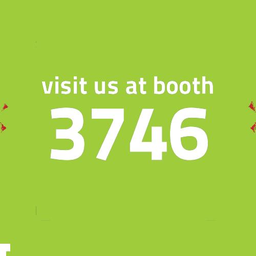 Visit us at Booth 3746