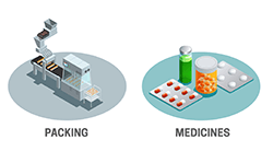 Pharmaceutical Industry (Packing & Medicines)