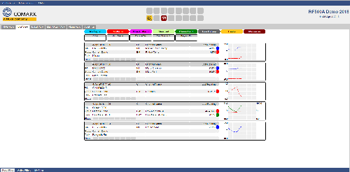RF500 User Interface - List View